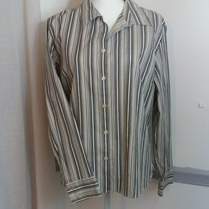 Button up Blouse, Wrinkle free